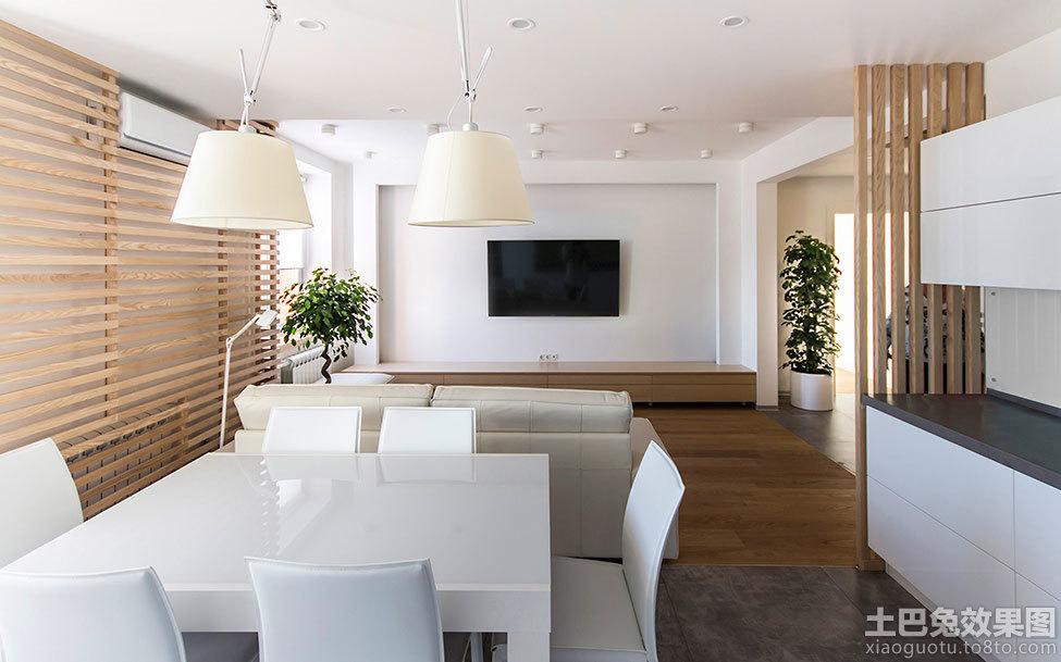 极简主义风格室内客厅电视背景墙效果图