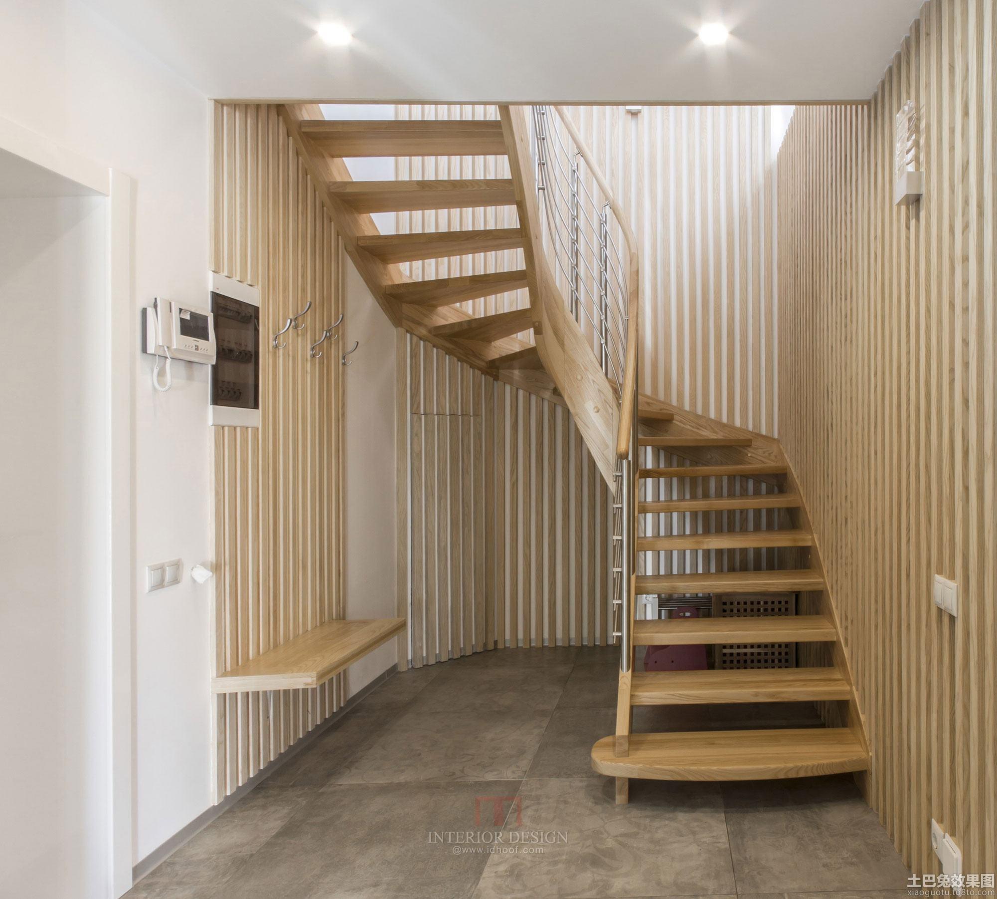 极简主义阁楼楼梯装修效果图 - 九正家居装修效果图
