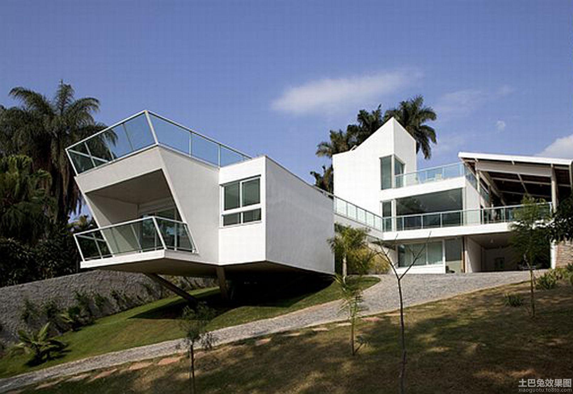 日本现代主义建筑风格宾馆预订蓝都别墅图片