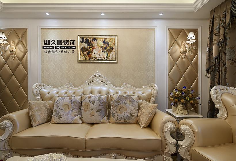 欧式风格沙发背景墙装修效果图图片