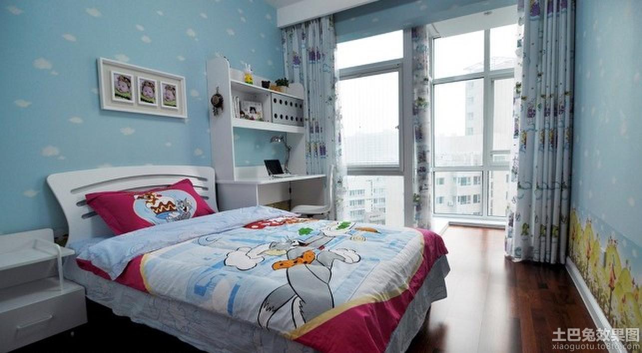 12平米温馨儿童房装潢图片