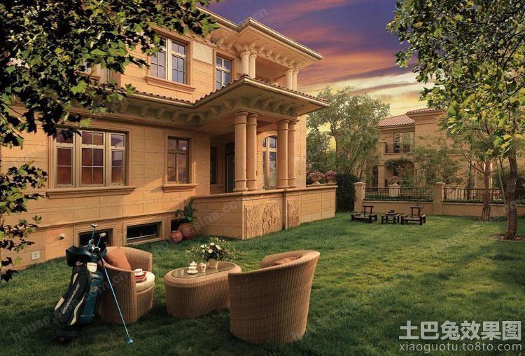 欧式豪华三层别墅外景图片图片