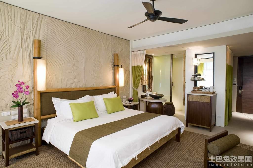 东南亚卧室装修风格图片