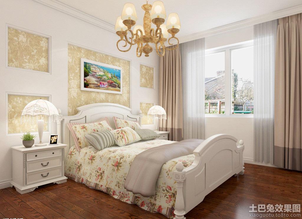 韩式 田园 卧室 装修 - 装修效果图 - 九正家居网图片
