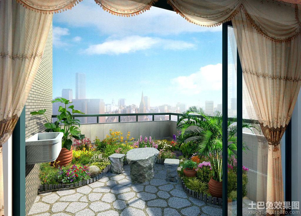 房屋阳台 - 装修效果图