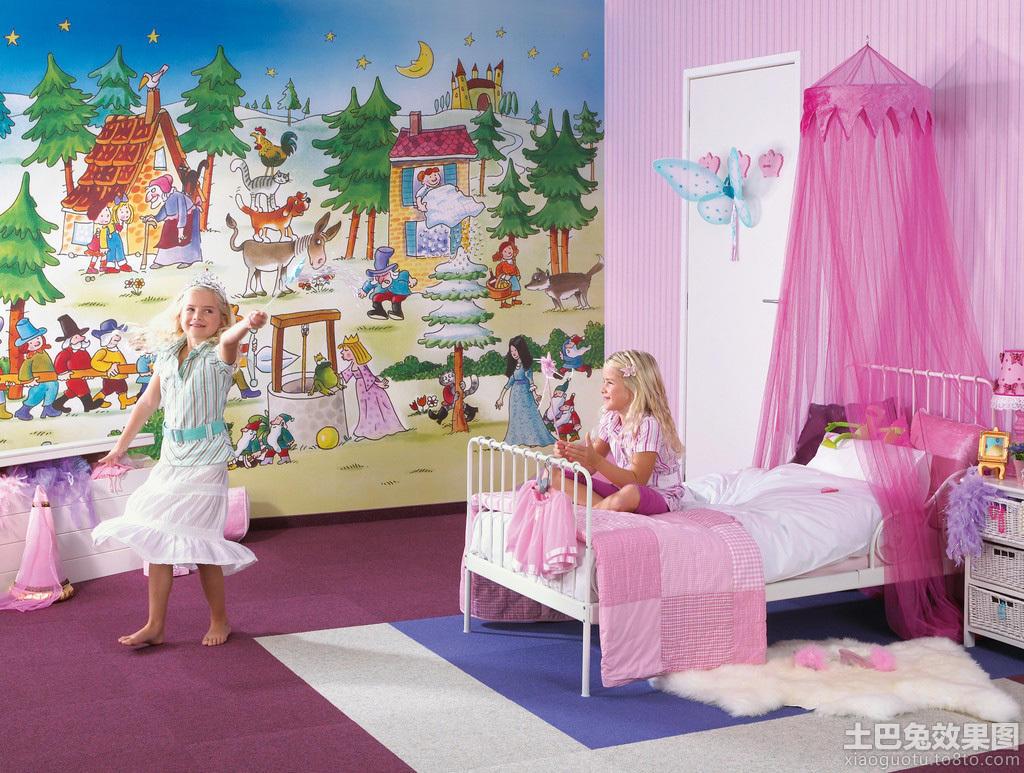 女生卧室小清新设计图片