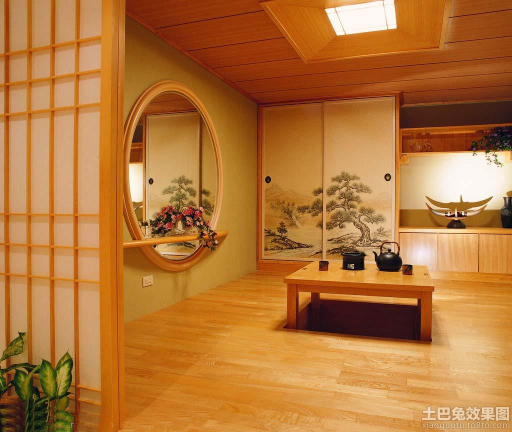 中式客厅榻榻米效果图