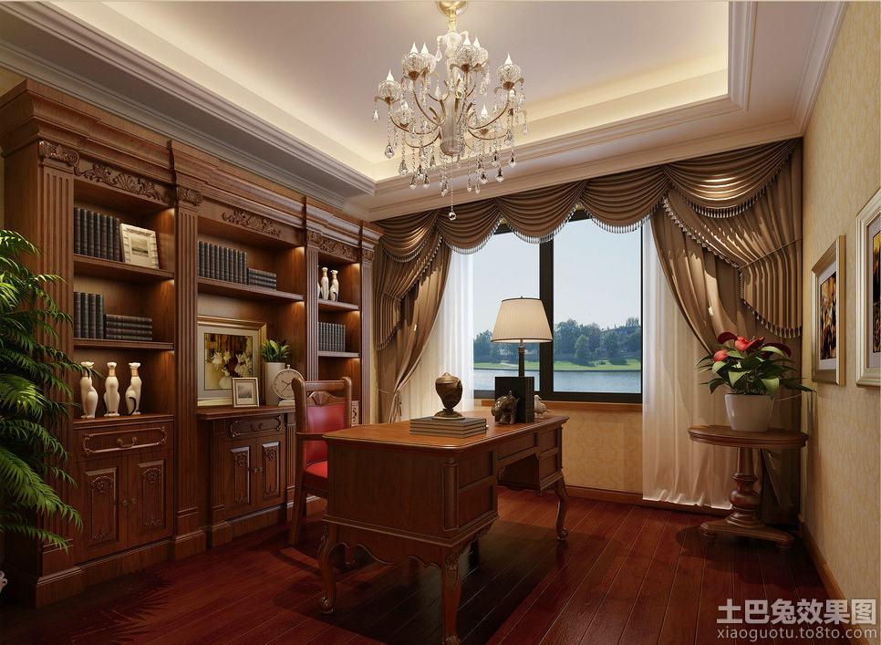书房窗户效果图 - 九正家居装修效果图