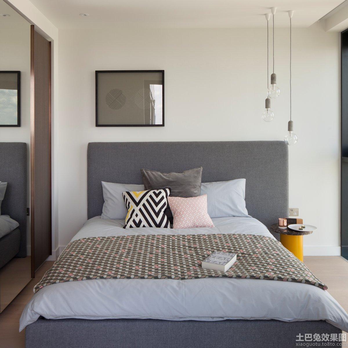 北欧风格卧室图片欣赏 - 装修效果图 - 九正家居网图片