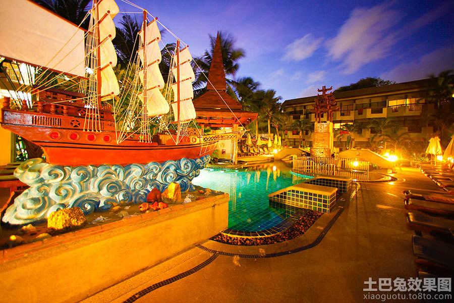 普吉岛酒店外观设计图片欣赏