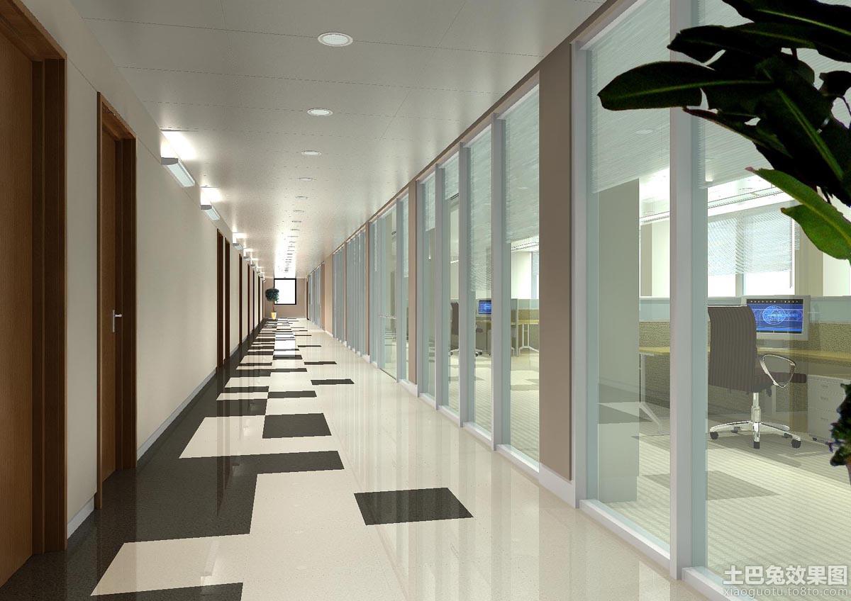 鹏润大厦办公室走廊图片 - 装修效果图 - 九正家居网