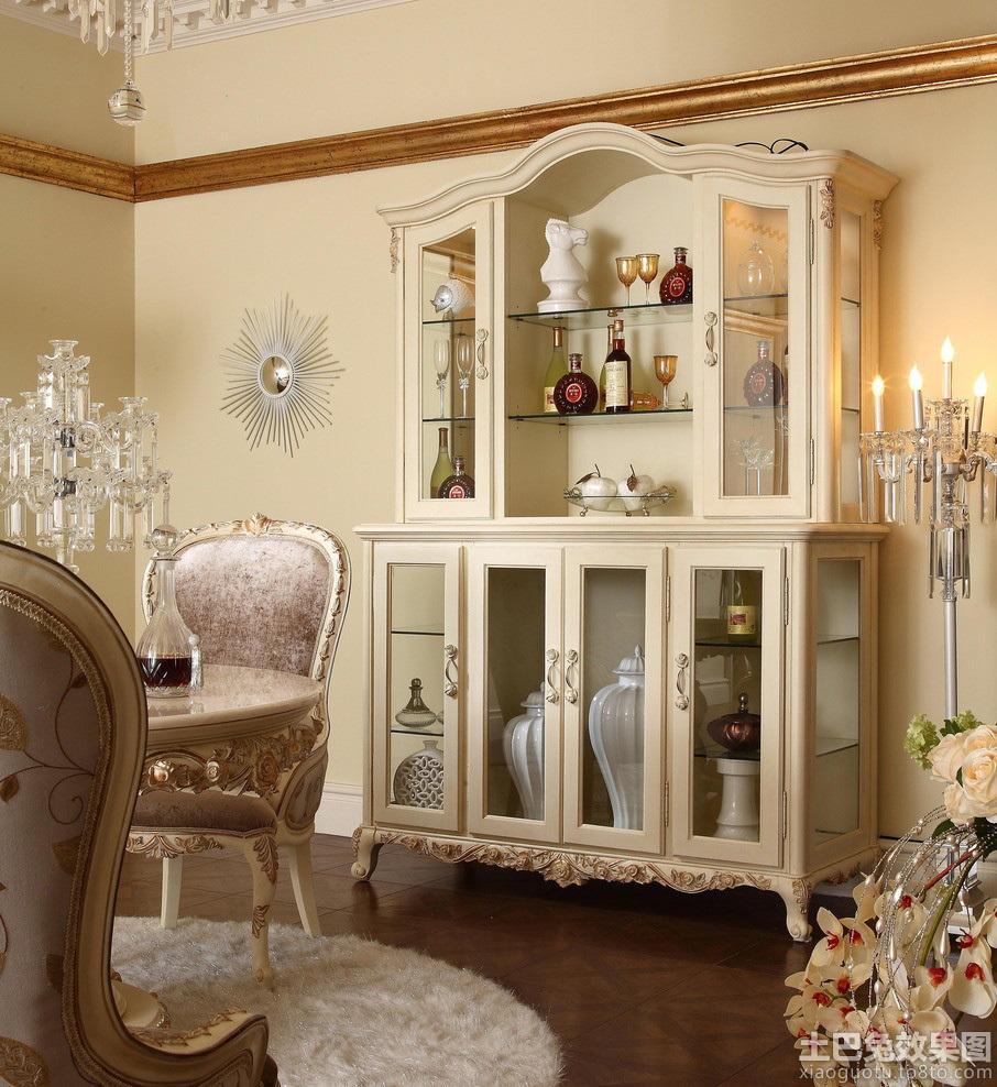 家庭装修欧式酒柜图片欣赏图片