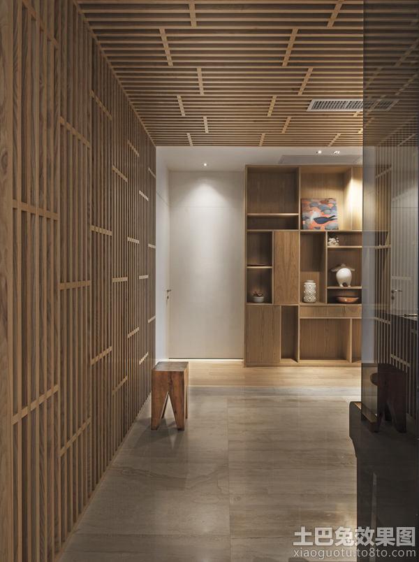 实木装修墙面设计 - 装修效果图 - 九正家居网