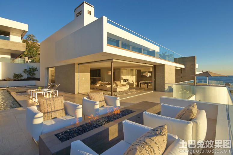 现代豪华别墅开放式别墅设计图片阳台灯独千栋图片
