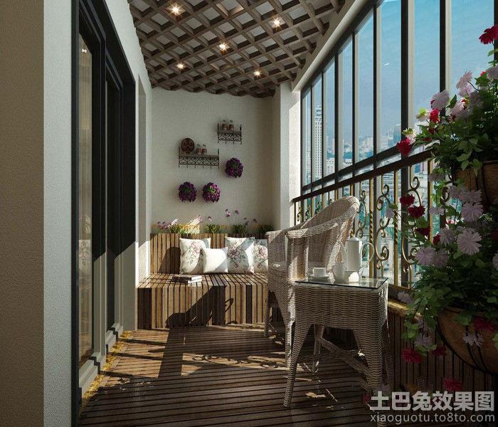 中式阳台榻榻米图片图片