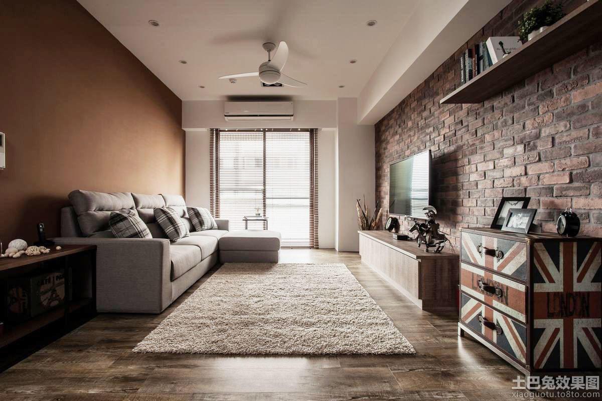 仿古风格室内客厅装修设计