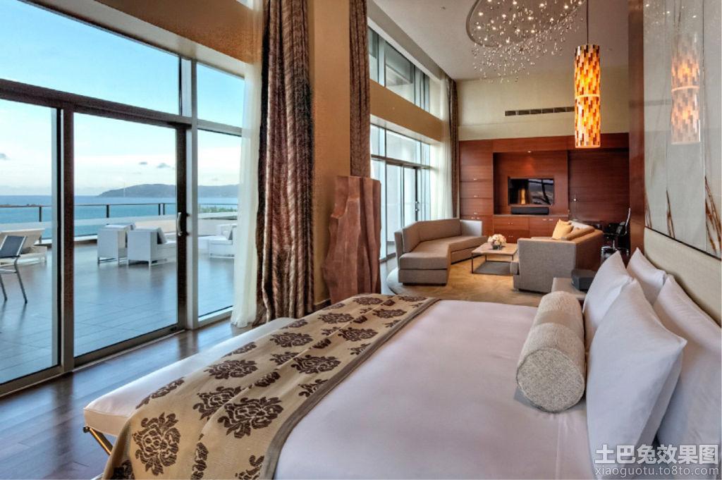 三亚鸿芳中洋海景酒店海景套房装修图片