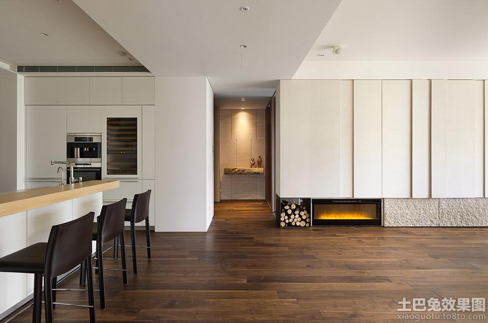 简约风格室内木地板装修图片