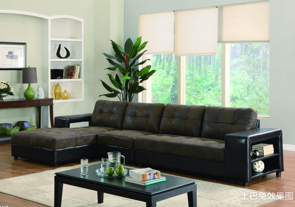 美式风格左右布艺沙发图片图片