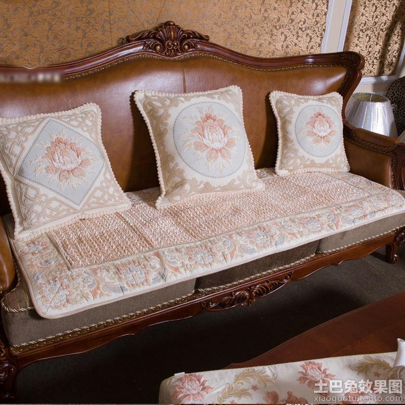 欧式皮沙发垫子图片 (800x800)-欧式沙发