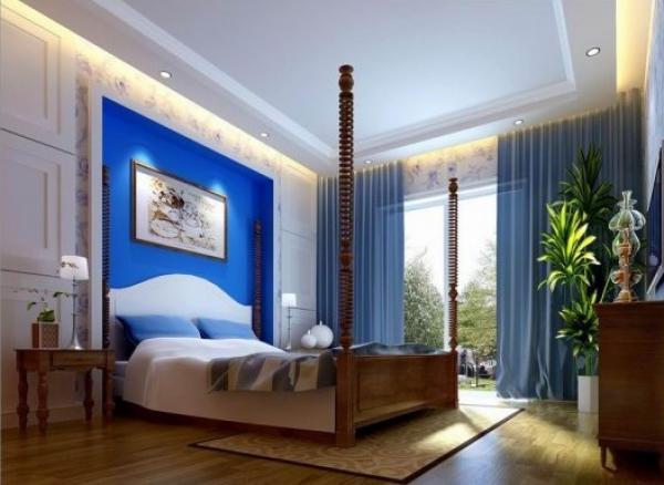 海边度假卧室装修效果图片