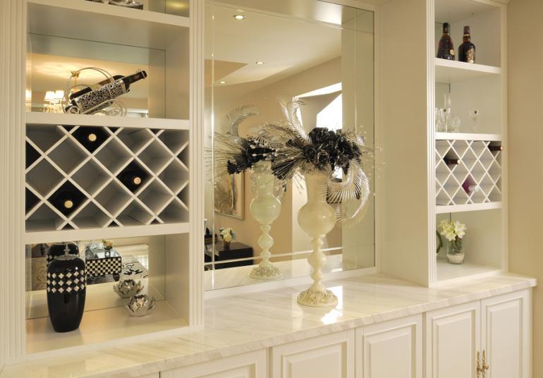 二居室餐厅酒柜装修图片欣赏 - 九正家居装修效果图