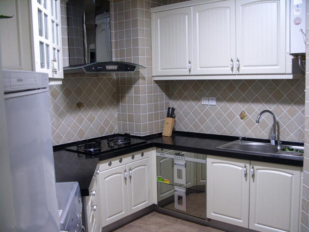 小户型厨房美图 简约厨房设计风格 - 九正家居装修