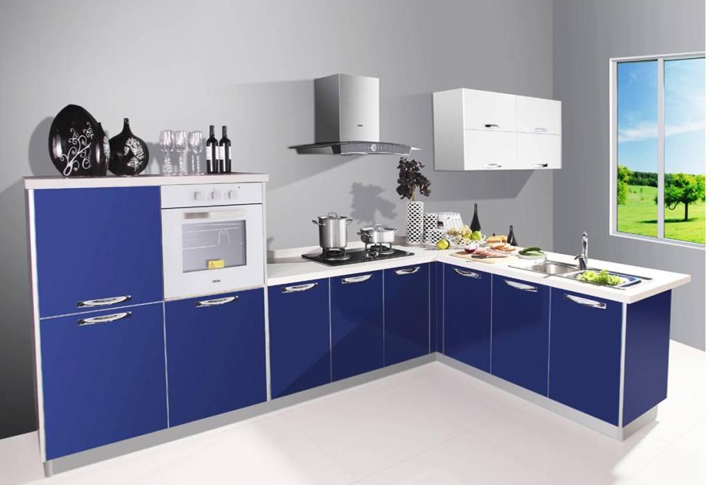 蓝色海洋 清爽地中海风格厨房装修效果图呈现