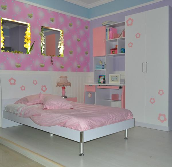 时尚可爱儿童房卧室装修效果图呈现
