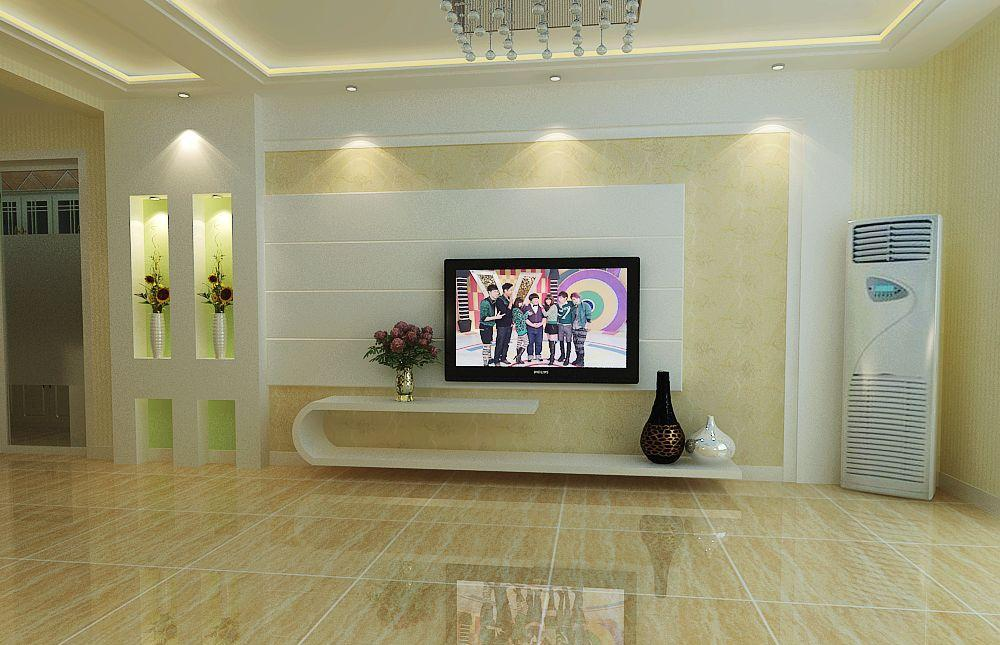 现代风格电视背景墙效果图大全2013