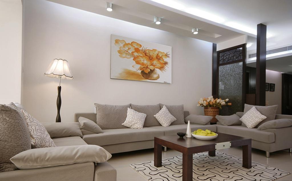 新中式客厅沙发装修效果图图片