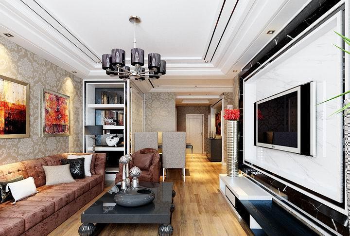 最新欧式客厅吊顶装修设计图片图片
