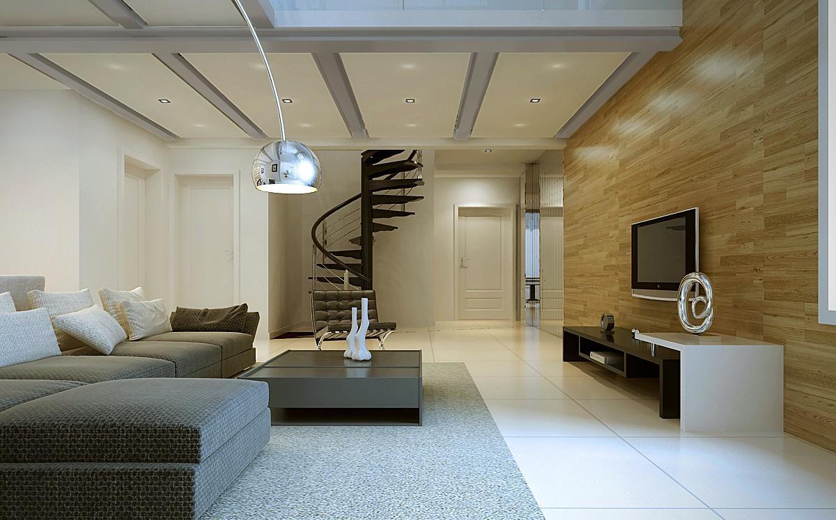 2013最新现代客厅电视背景墙设计效果图
