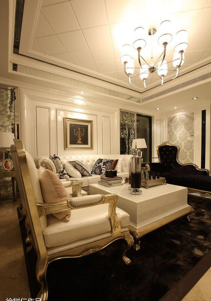 简欧风格客厅吊顶图片图片
