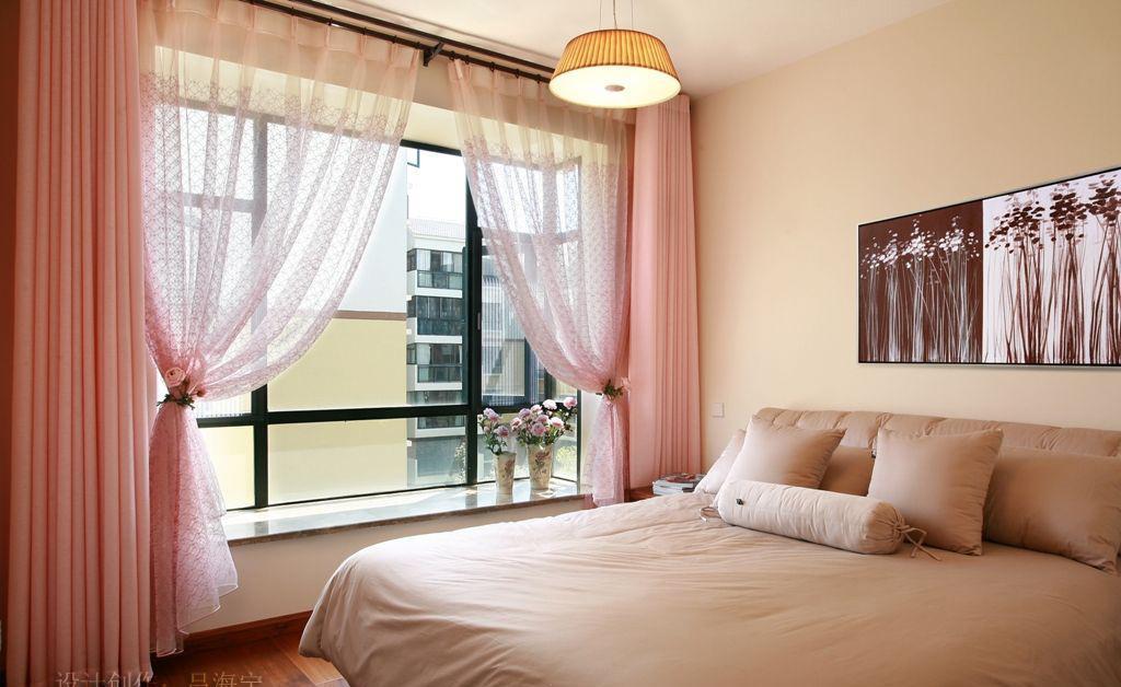 复式楼温馨小卧室窗帘装修效果图大全2012图片图片
