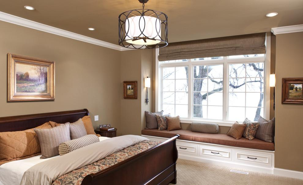 欧式卧室飘窗装修效果图大全2013图片欣赏