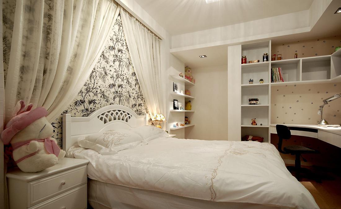 现代风格女生卧室装修效果图大全