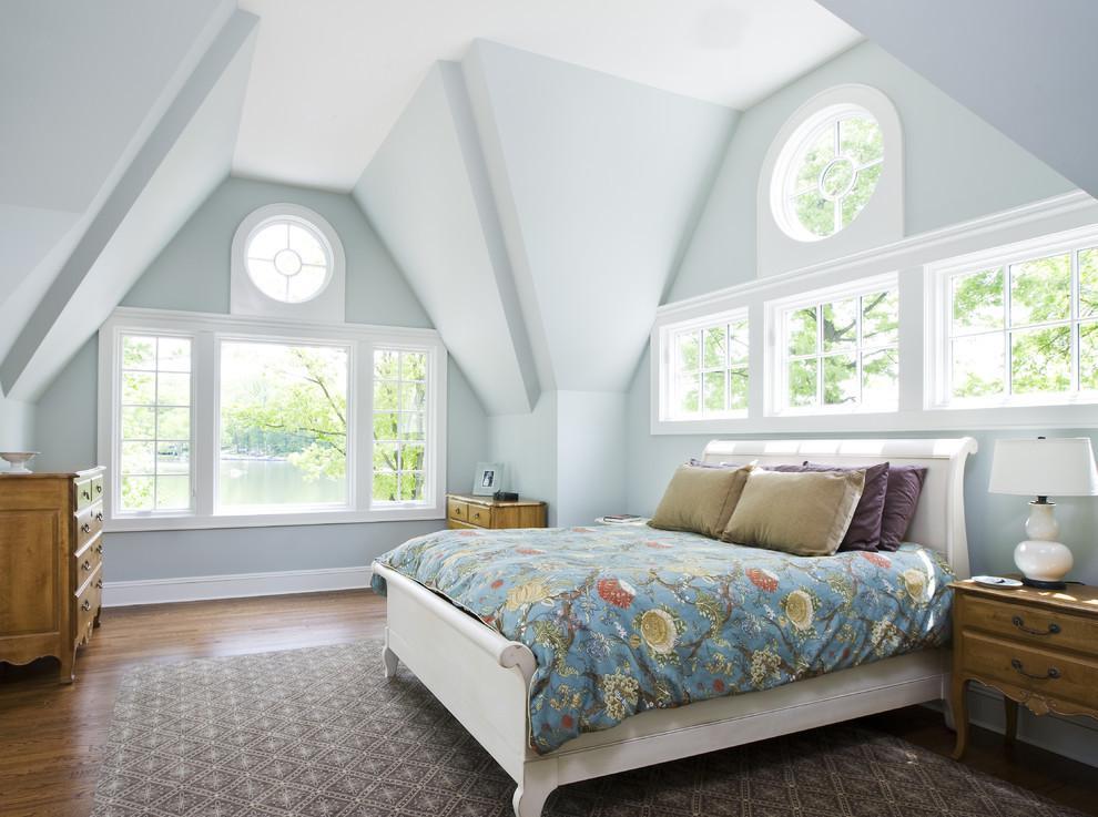 欧式阁楼卧室装修效果图大全