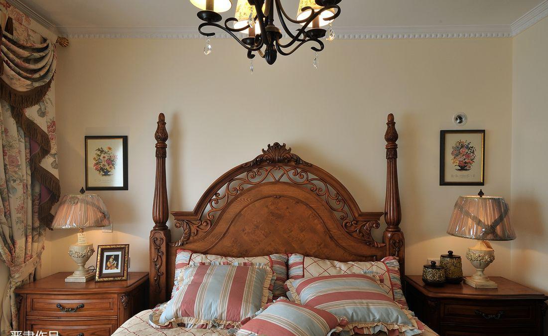 美式卧室装修效果图2013图片