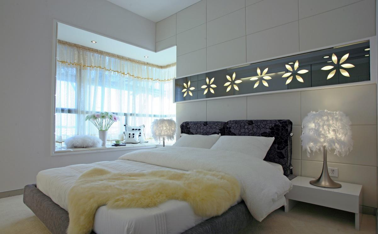 背景墙 房间 家居 起居室 设计 卧室 卧室装修 现代 装修 1201_745