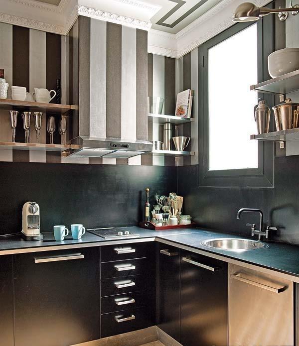 小厨房装修效果图大全2012图片