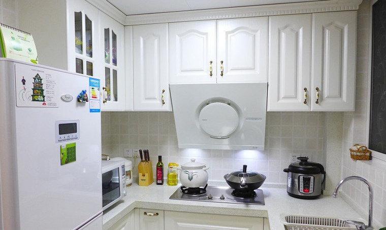 欧式厨房吊柜装修效果图