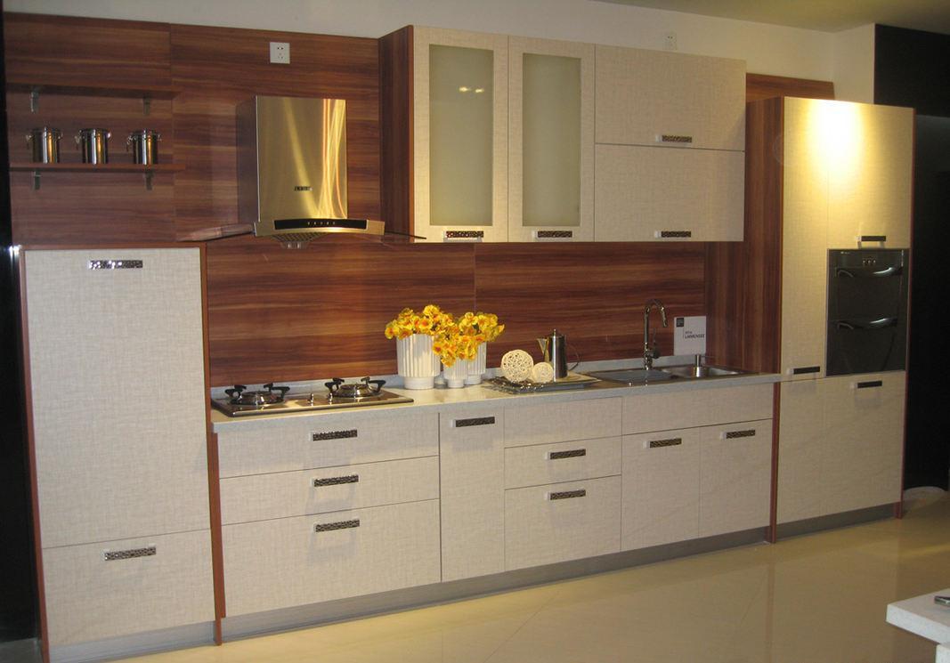 一字型厨房设计图片