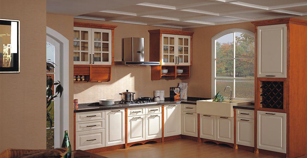 最新美式厨房橱柜装修效果图片图片