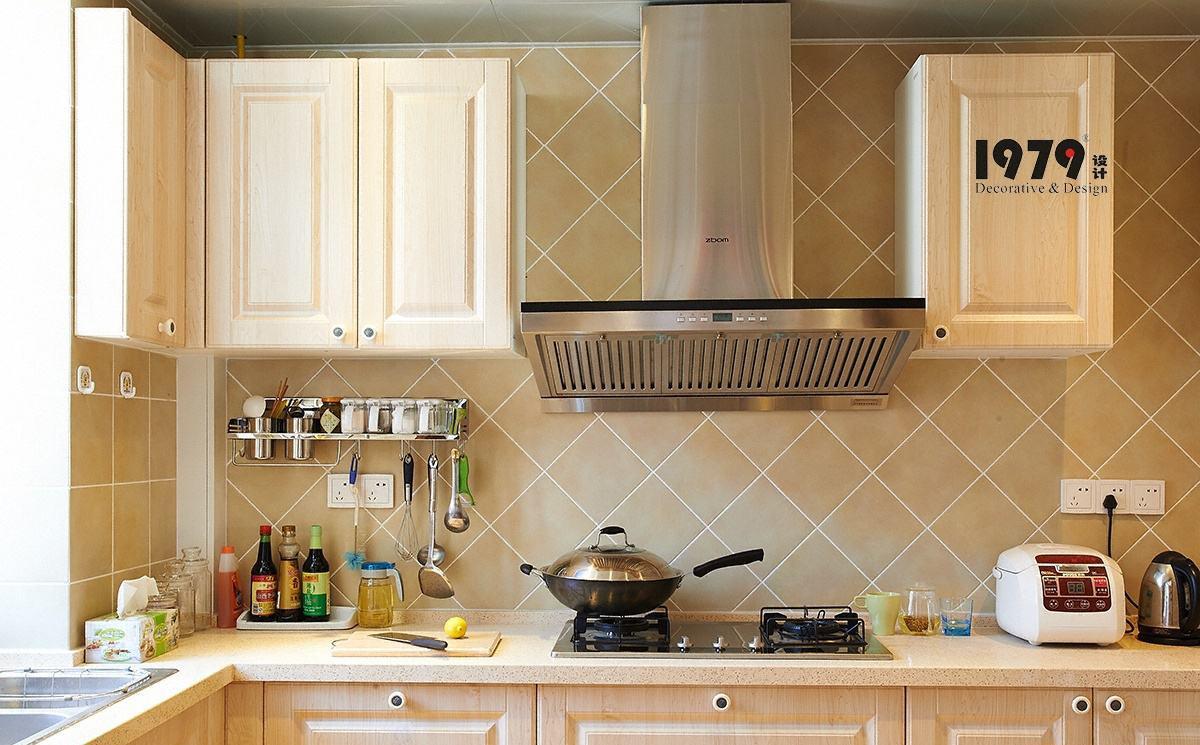 家庭厨房台面装饰图片 - 装修效果图 - 九正家居网