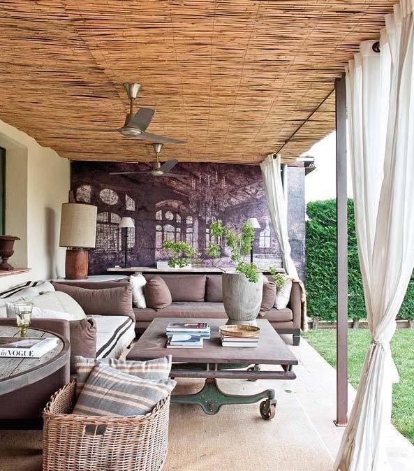 阳台家具设计图片 - 装修效果图 - 九正家居网