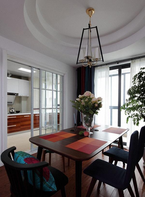 现代家庭餐厅吊顶装修效果图片图片