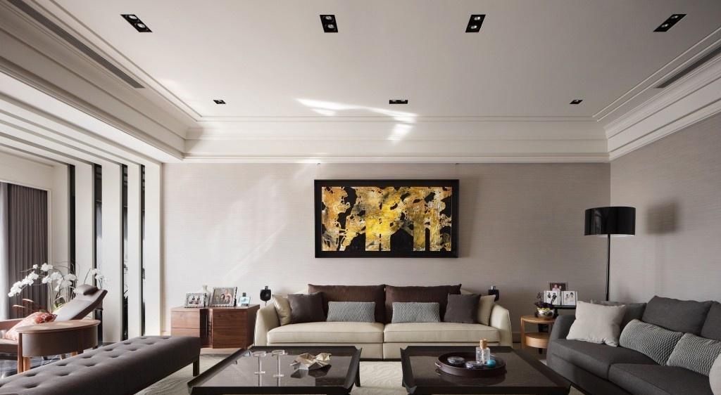 现代小户型客厅室内装饰壁画图片 - 九正家居装修效果