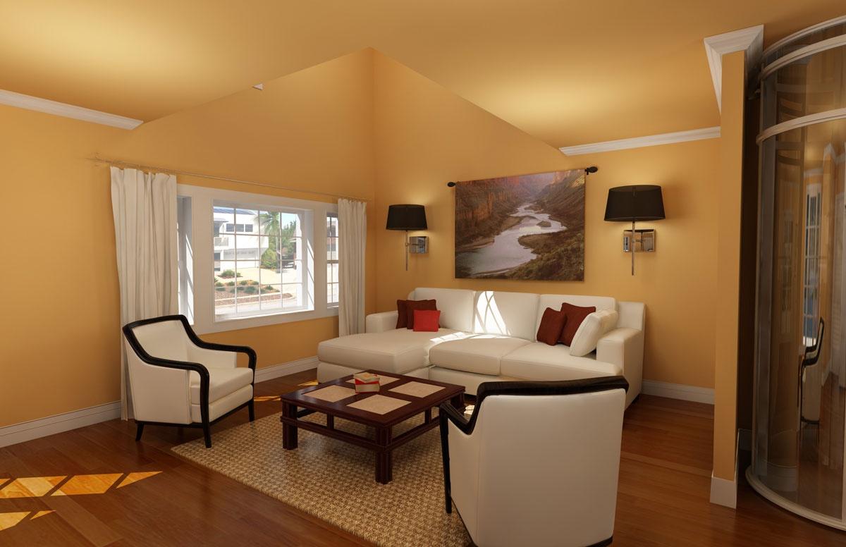 65平小户型客厅装修效果图大全2015图片