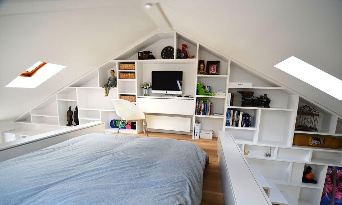 尖顶阁楼卧室装修效果图大全